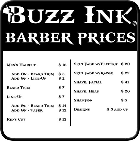 tattoo shops and prices the barbers hairstyle guide hairstylegalleries