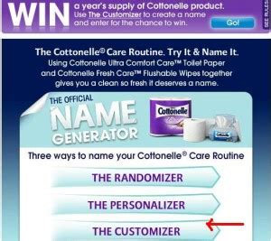 Cottonelle Sweepstakes - cottonelle name it sweepstakes win a year s supply