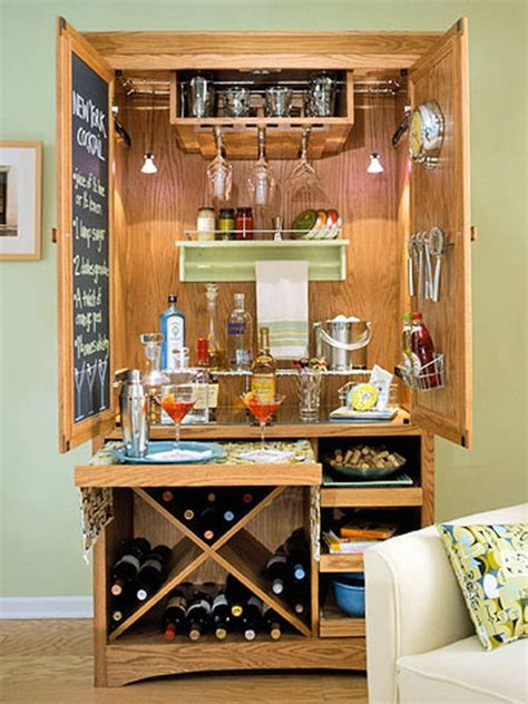 diy wine and bar cabinet 15 cool and budget diy wine bars hative