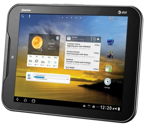 at t android tablet at t pantech element android 4 0 update now live