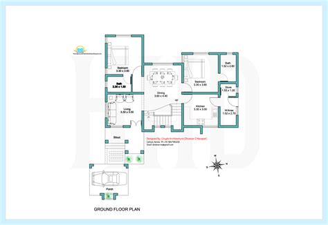 K Sq Venom 2 Kid 2000 sq contemporary villa plan and elevation