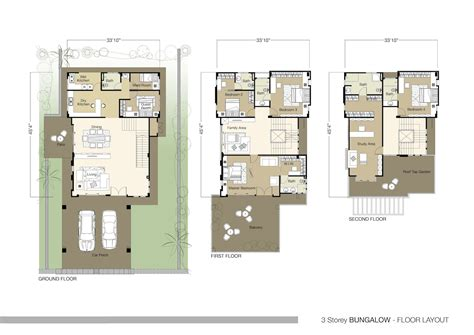 bungalow house floor plan 4 bedroom bungalow plan structure modern house