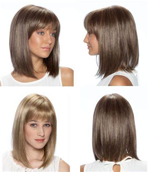 shoulder length blunt cut shoulder length blunt cut this hair care pinterest