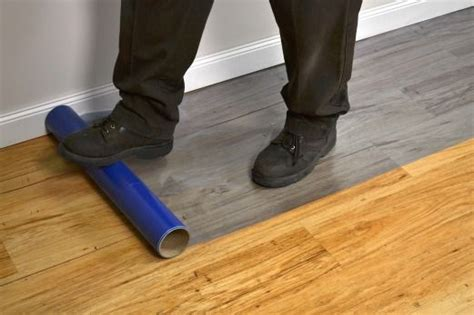 hardwood floor protection presto tape s floor protection film is a temporary yet