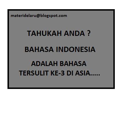 adalah indonesia blogspot bahasa indonesia adalah bahasa tersulit ketiga di asia