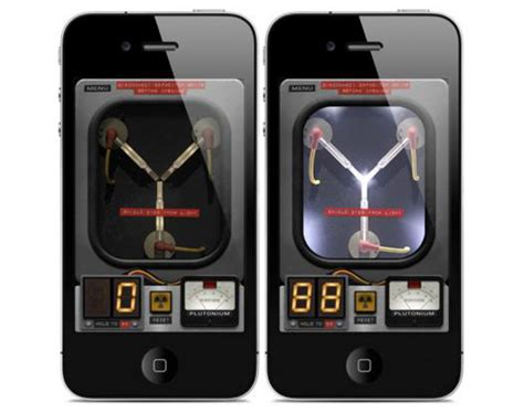 flux capacitor iphone app back to the future pocketable back to the future flux capacitor iphone app sumally サマリー