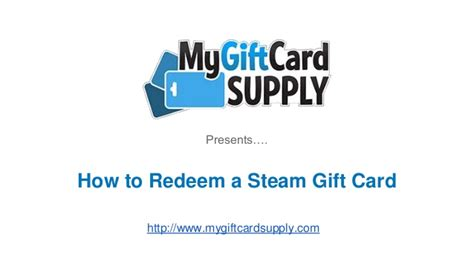 Steam Gift Card Redeem - how to redeem a steam gift card