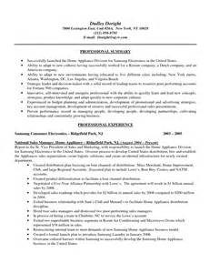 Resume Sles For New Home Sales new home sales resume exles resume ideas