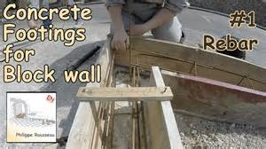 Do I Need A Concrete Base For A Shed by How To Build A Concrete Block Wall Foundation Concrete