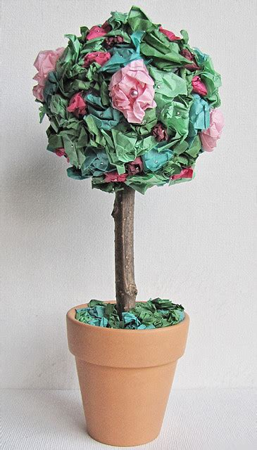 paper flower topiary tutorial file tissue paper flower topiary jpg wikimedia commons