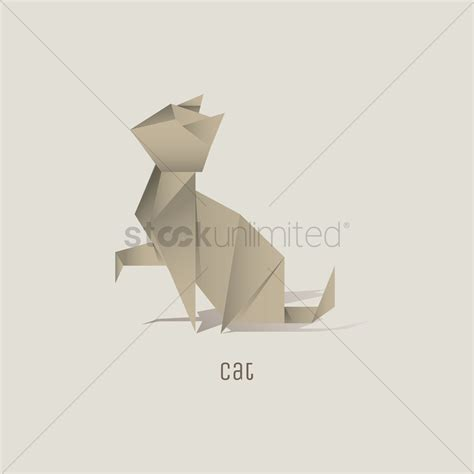 Cat Origami Diagram - origami origami cat cat origami step by step cat origami