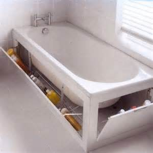 bathroom tub ideas diy bathtub surround storage ideas hative