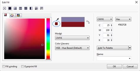 corel photo paint help choosing colors