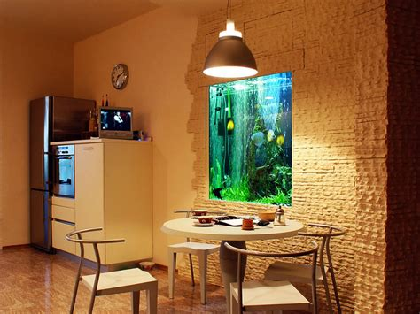 foto abitazione con arredamento orientale di valeria del foto acquario a parete di valeria del treste 304257