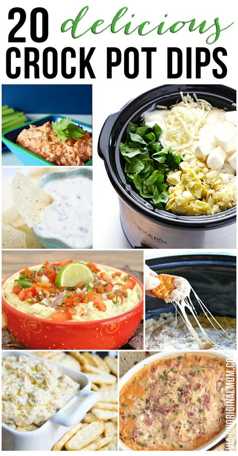 20 delicious crock pot dip recipes unoriginal mom