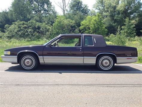 91 Cadillac Coupe Buy Used 1991 Cadillac Coupe 91 000