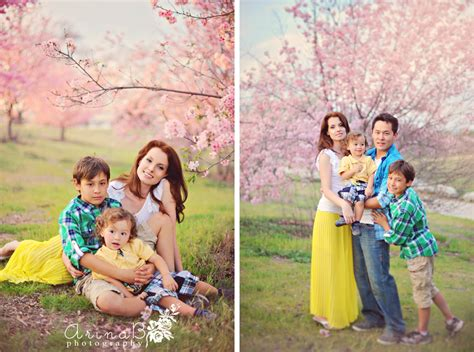 photo session blooming family photo session preview arina b