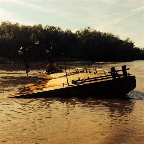 ark boat stuck on land regulators issue trespass notices for kuskokwim vessels