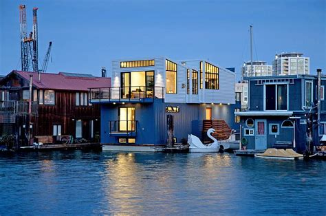 houseboats sf modern floating house in san francisco leaves you speechless