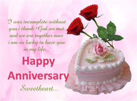 Anniversary greeings for husband   anniversary wishes for