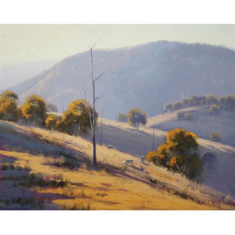 Landscape Paintings Australia Gercken Summer Landscape Painting Commissioned Australian