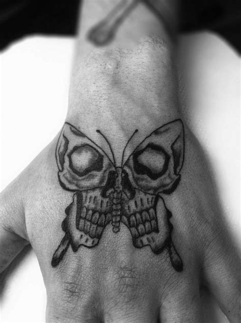 butterfly skull tattoo 160 skull tattoos best tattoos designs and ideas
