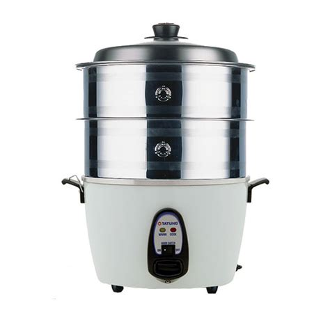 Rice Cooker Tatung stainless steel steamer for 10 cup multi functional cooker