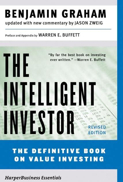 Llb And Mba Combination by Barel Karsan Value Investing The Intelligent Investor