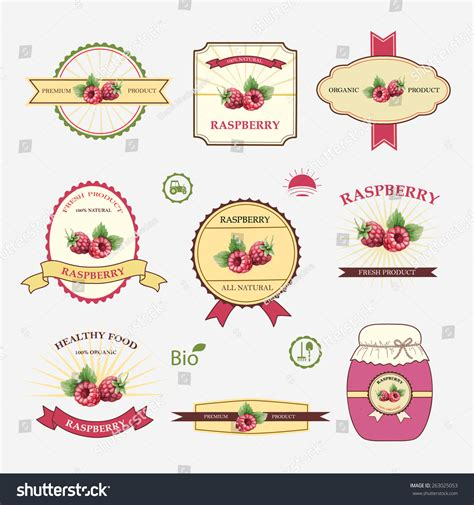 label design templates vector set label design templates vector illustration stock