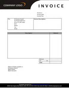 best photos of sample invoice template free download