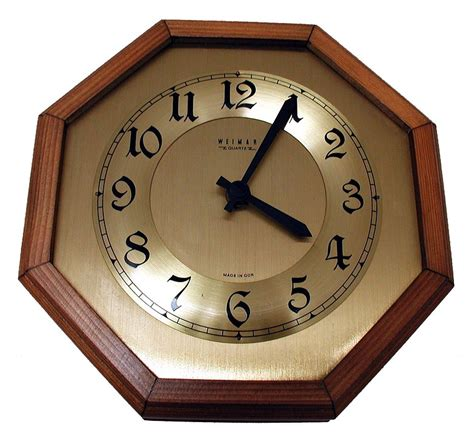 Jam Dinding Vintage Wood Brown free photo wall clock time of clock time free image on pixabay 3622