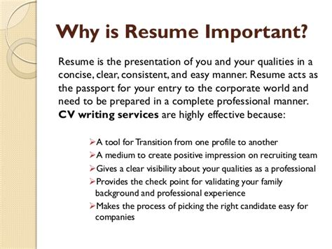 Resume Writing Importance Is Resume Important Dissertationsinternational X Fc2