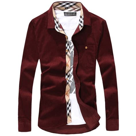 mens solid color flannel shirts 2016 new flannel fashion clothing solid color