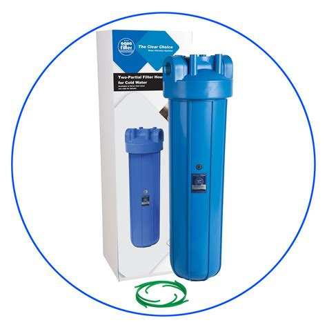 Cartridge Water Filter Filter Air 20 Inch Dewater 20 quot inch big blue water filter housing fh20bx l aquafilter