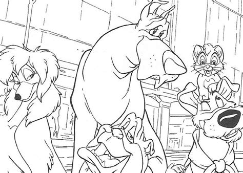 coloring book printing companies coloring page oliver and company coloring pages 14