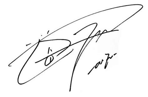 Kaos Kpop Signature 5 Cr Oceanseven what are your favourite idol autographs signatures kpop