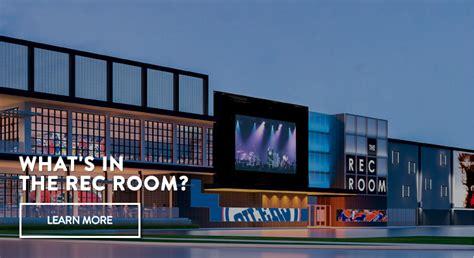 cineplex rec room cineplex opens first quot rec room quot in canada replay magazine