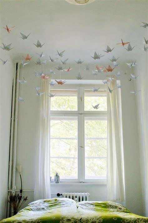 desain kamar origami 13 desain hiasan dinding kamar tidur kreatif unik modern