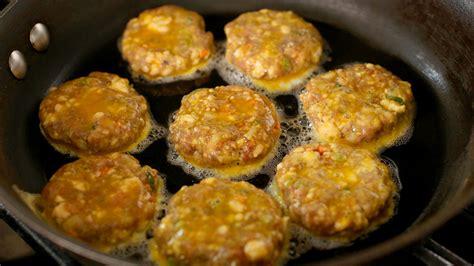 Pan fried meat and tofu patties (Wanja jeon) recipe