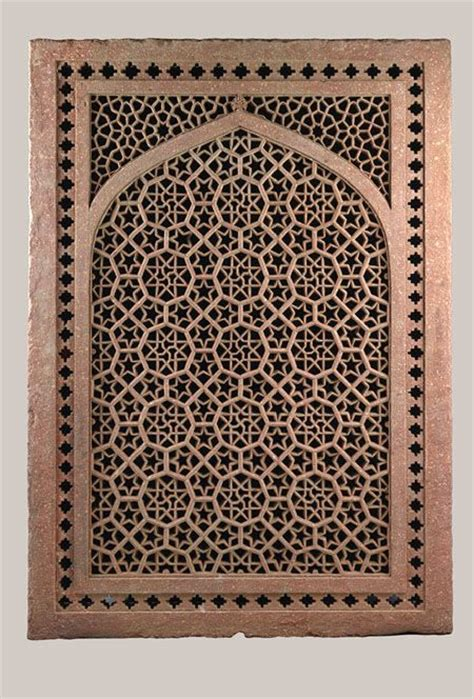 geometric jali pattern jali screen were used extensively in indian architecture