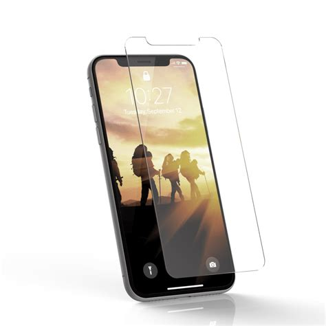 glass screen shield iphone xs max by uag high quality tempered glass armor gear