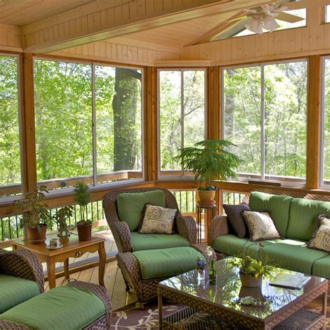 custom sunrooms  screened rooms  american deck
