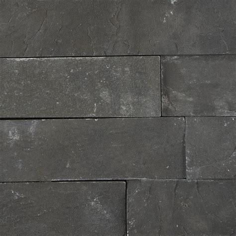 Black Slate Maxi Splitface Tiles & Flooring   Mandarin Stone