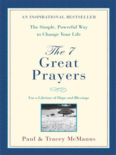 7 Great For by The 7 Great Prayers By Paul Mcmanus 183 Overdrive Ebooks