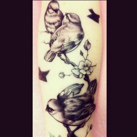 three small birds tattoo my three birds