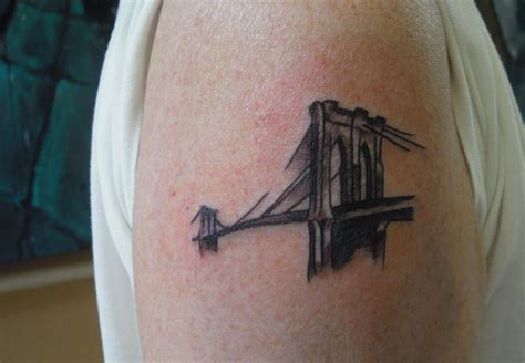 brooklyn tattoos bridge tattoos