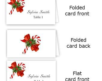 watercolor flowers place card template download print