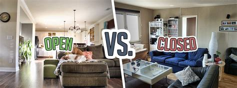 Open Floor Plans Vs Closed Floor Plans | open floor plans vs closed floor plans budget dumpster