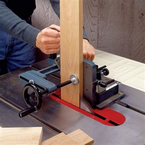 heavy duty tenoning jig rockler woodworking and hardware