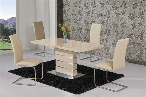 high dining room table and chairs extending high gloss dining table and 6 chairs